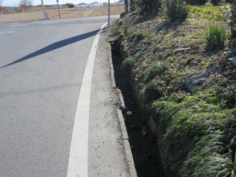 「三村羽成子地区急カーブ横断歩道・側溝問題」⑥