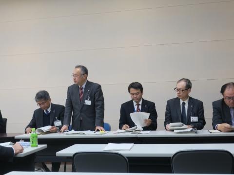 「平成30年度予算内示会」③1