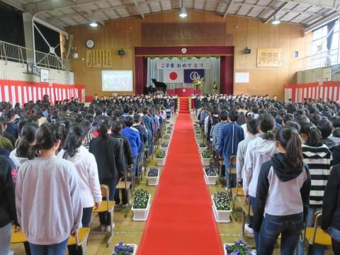 「第73回府中小学校卒業式」 (2)