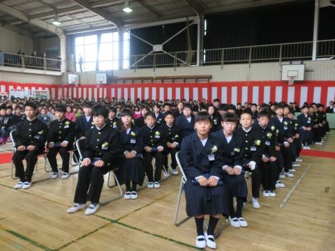 「第73回府中小学校卒業式」 (4)