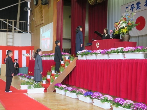 「第73回府中小学校卒業式」 (6)