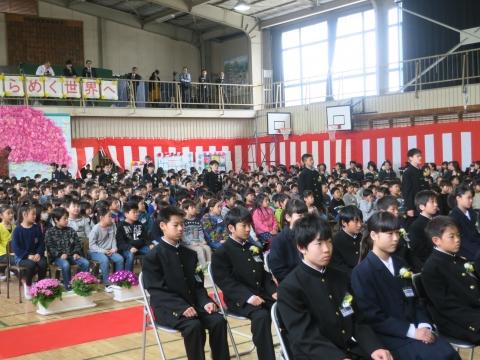 「第73回府中小学校卒業式」 (3)