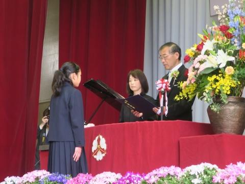 「第73回府中小学校卒業式」 (7)