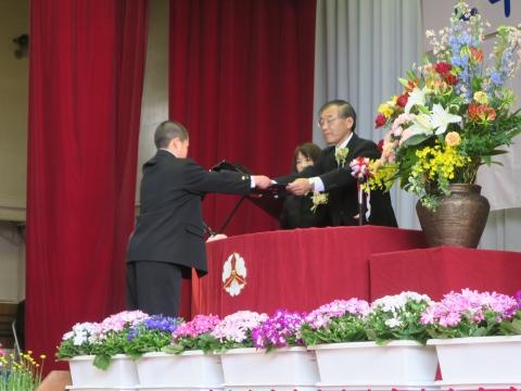 「第73回府中小学校卒業式」 (8)
