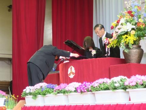 「第73回府中小学校卒業式」 (9)