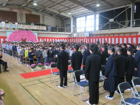 「第73回府中小学校卒業式」 (18)