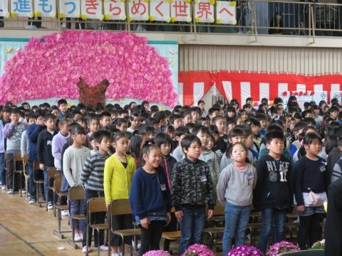 「第73回府中小学校卒業式」 (19)