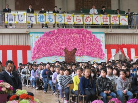 「第73回府中小学校卒業式」 (22)