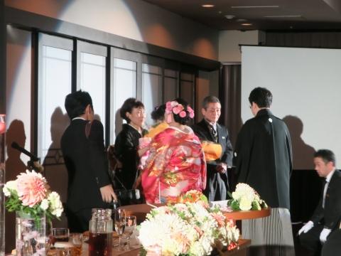 「櫻井家片平家ご結婚式」②
