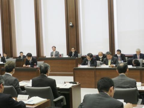 「予算特別委員会」副委員長1日目①