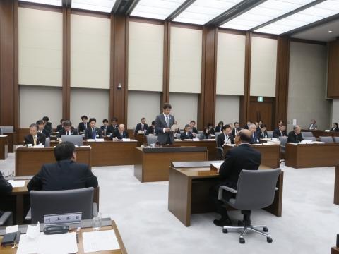 「予算特別委員会」副委員長1日目④