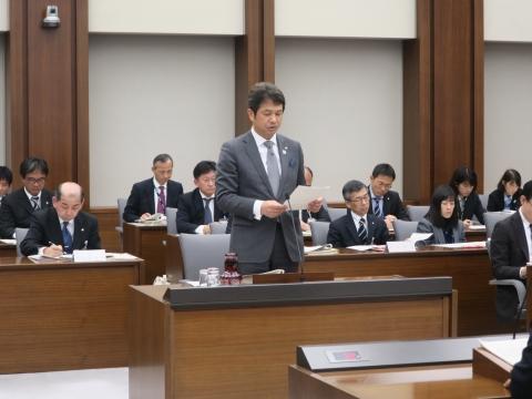 「予算特別委員会」副委員長1日目⑪