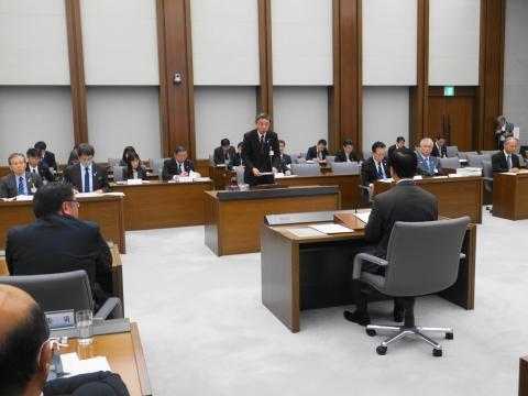 「予算特別委員会」2日目③