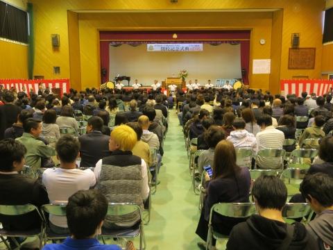 「城南中学校閉校式」 (2)
