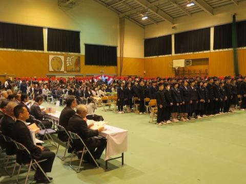 「城南中学校閉校式」 (9)