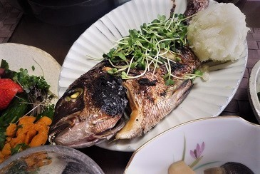 鯛塩焼き1
