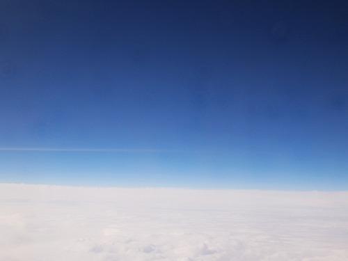 500雲の上の空