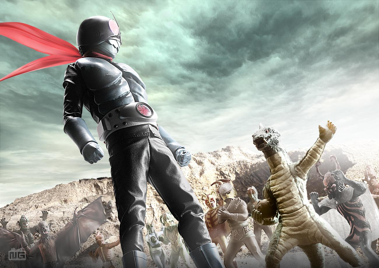【デジラマ】トカゲロンと大怪人軍団