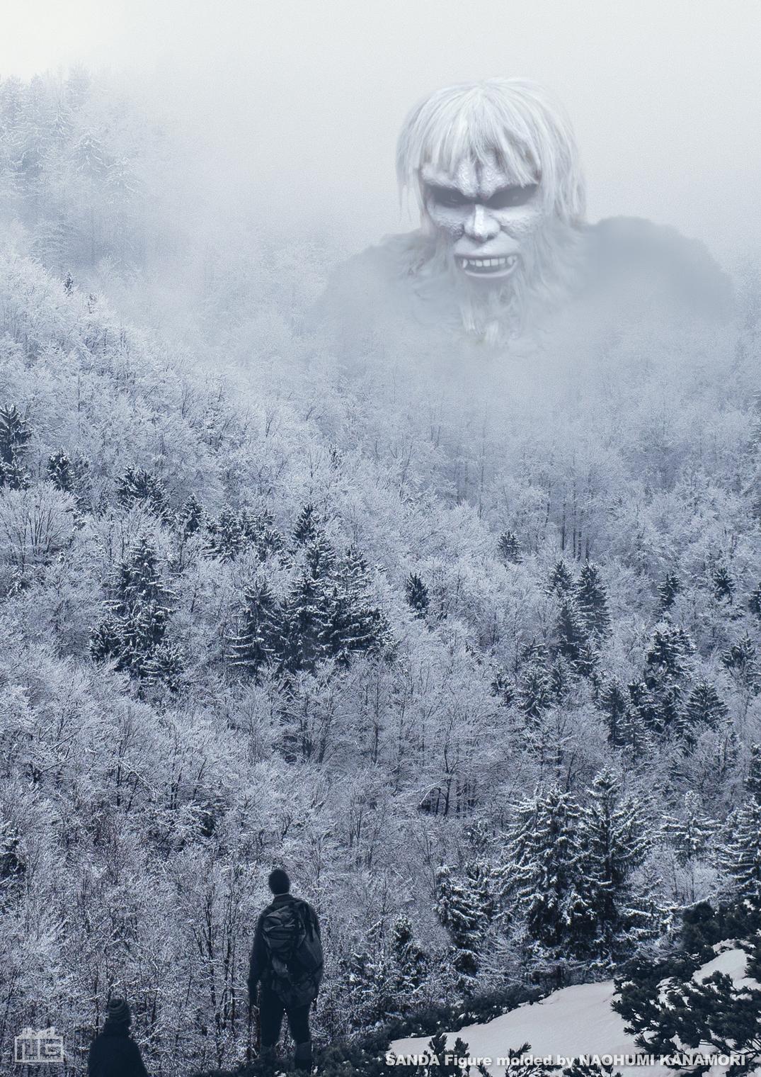 サンダ雪山