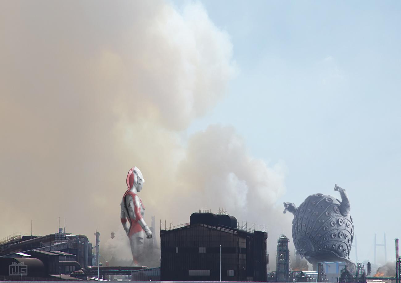 【デジラマ】帰ってきたウルトラマン「タッコング大逆襲」