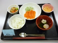 180129 お刺身サーモン (2)