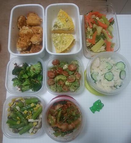 野菜いっぱいの常備菜