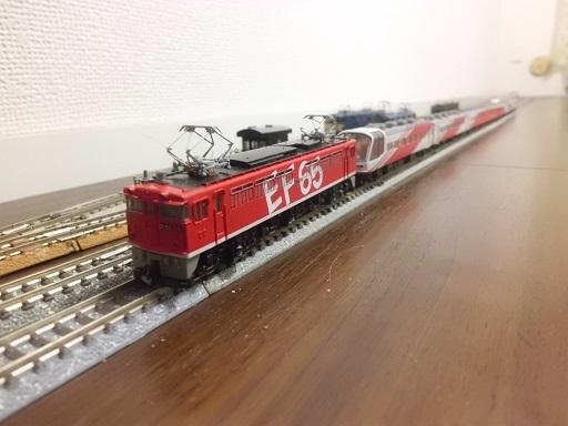 スーパーエクスプレスレインボーとEF65