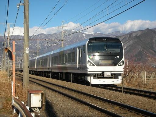 E257系モトM-107編成