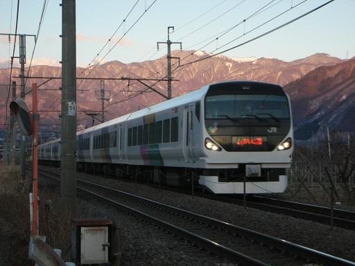 E257系モトM-116編成