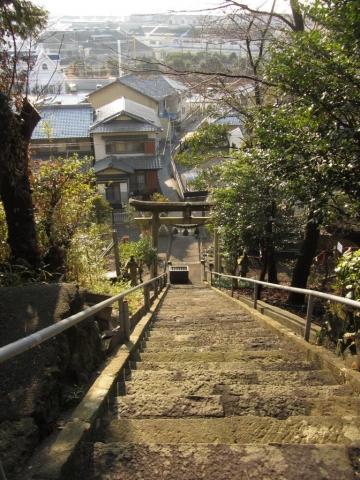諏訪神社石段