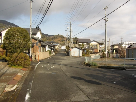 旧東海道 中之郷小池