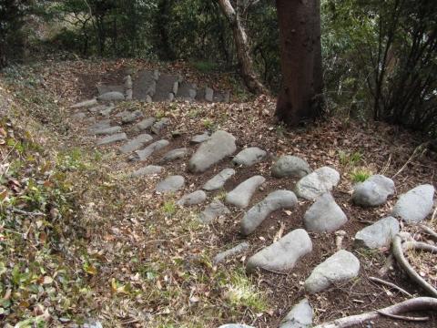 金鶴神社・山之神神社碑参道