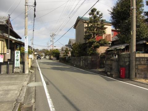 旧東海道 中之郷堺町