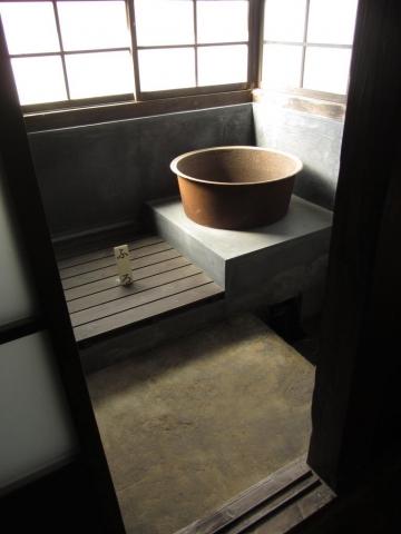 小休本陣常盤家住宅・風呂場