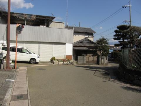 旧東海道 岩淵上町
