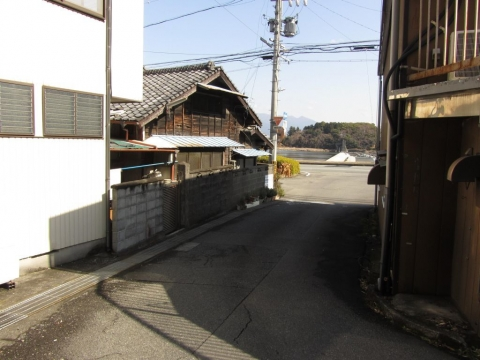 旧東海道 岩淵坂下