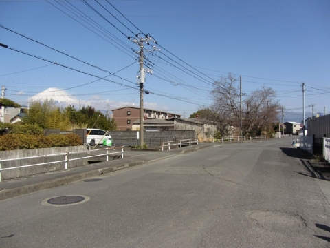 旧東海道 富士市松岡