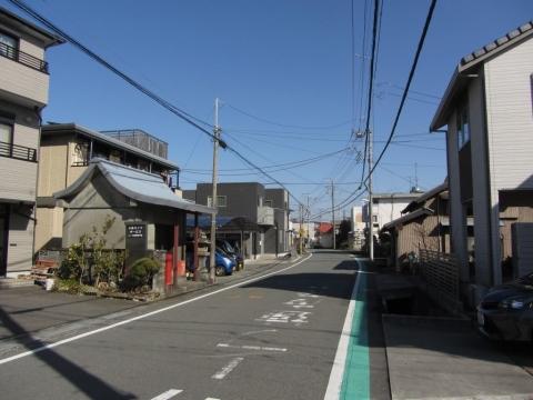 旧東海道 富士市柚木