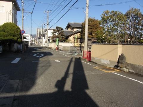 旧東海道 青島町