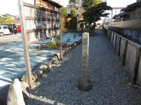 青嶋八幡宮神社参道