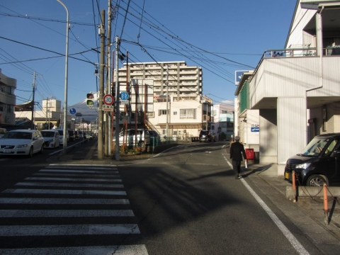旧東海道 錦町