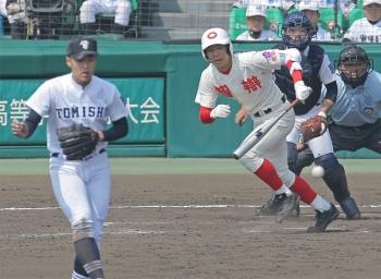 絵日記3・25高校野球1