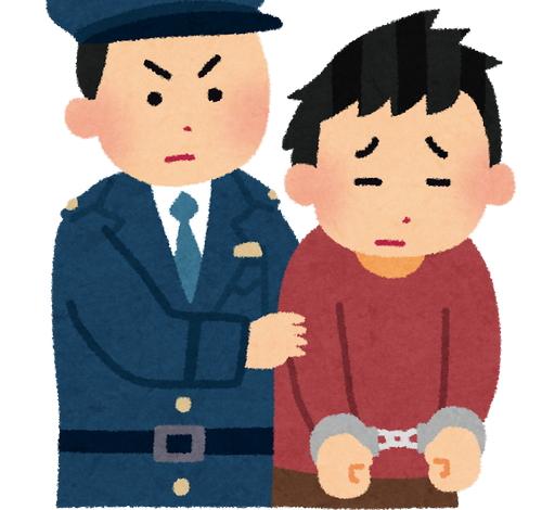 逮捕 いらすとや