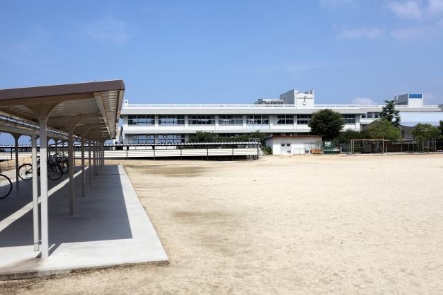 学校 校庭