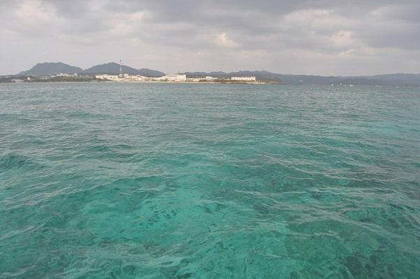 辺野古の青い海