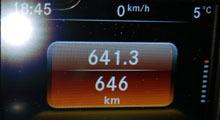 31日 走行距離646km