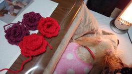 編み編みタイム♪
