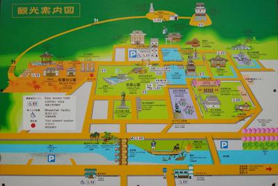 錦帯橋・吉香公園周辺