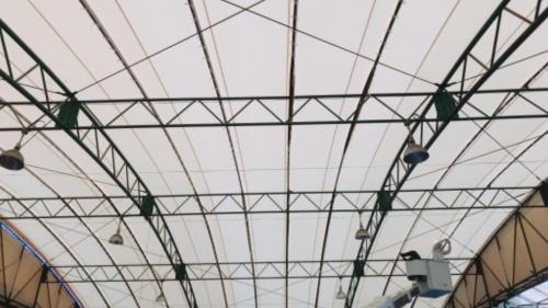 サカモトテント屋根完成