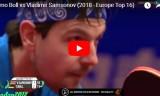 ティモボルVSサムソノフ(準決勝)ヨーロッパトップ16